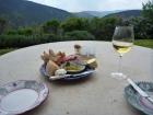 Food and Wine at Prato di Sotto Umbria Tuscany